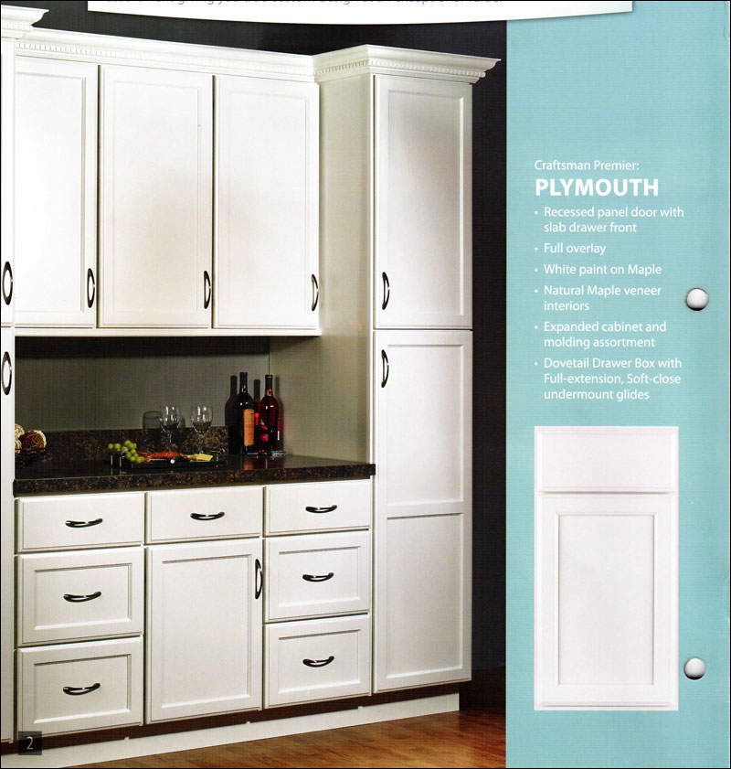 Craftsman Premier Plymouth White Kitchen Swansea
