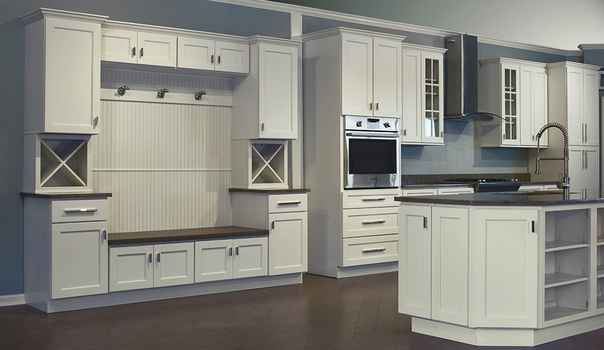 Designer Trenton Kitchen Swansea Cabinet Outlet
