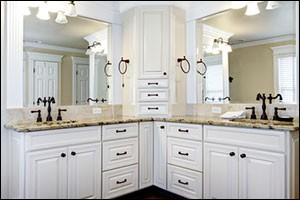 home remodeling tip: invest in top quality bathroom cabinets
