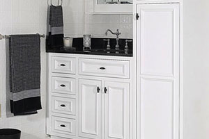 Designer Danbury White Bathroom Vanity