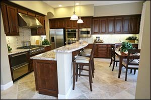 Kitchen cabinets and cupboards