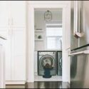 Laundry Room Remodel in Westport: South Coast Cabinet Options