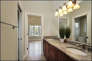 Jack and Jill Bathroom Design in New Bedford