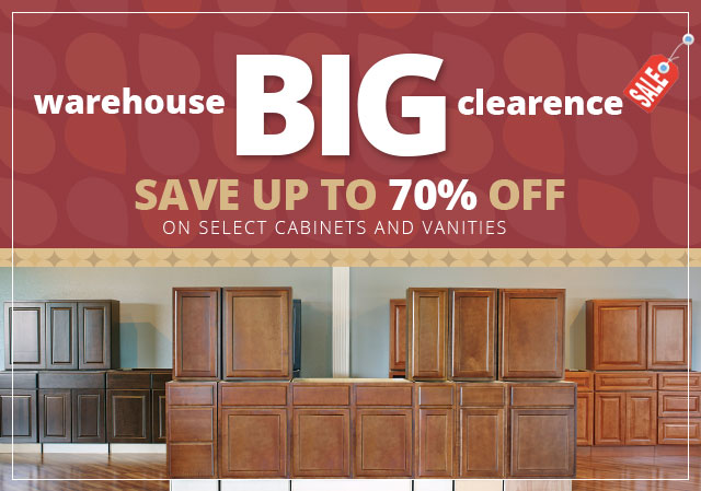 Bathroom Vanities Closeout specials | swansea cabinet outlet