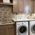 Top Quality Wood Cabinets to Remodel a Westport Laundry Room