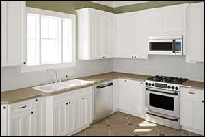 Replace Kitchen Cabinets in Rhode Island