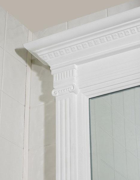 Designer - Danbury White Bathroom Vanity | Swansea Cabinet ...