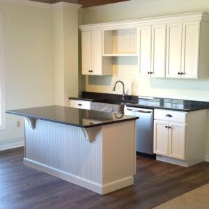 Craftsman Premier Plymouth White Kitchen